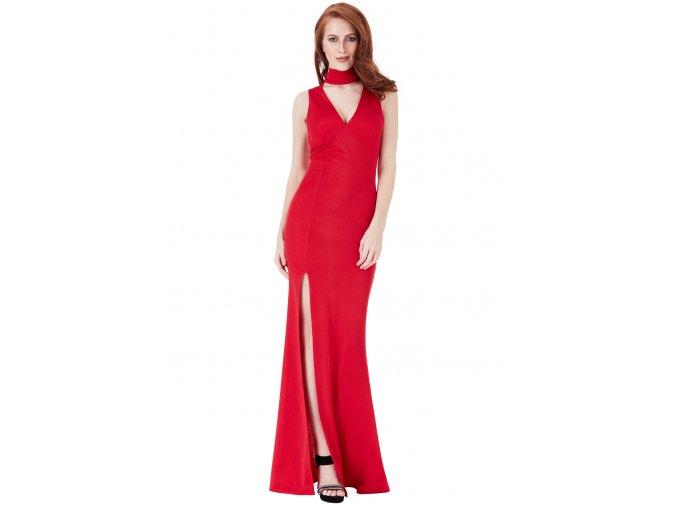 Plesové šaty Leonia červené