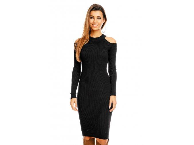 Společenské šaty Tory černé