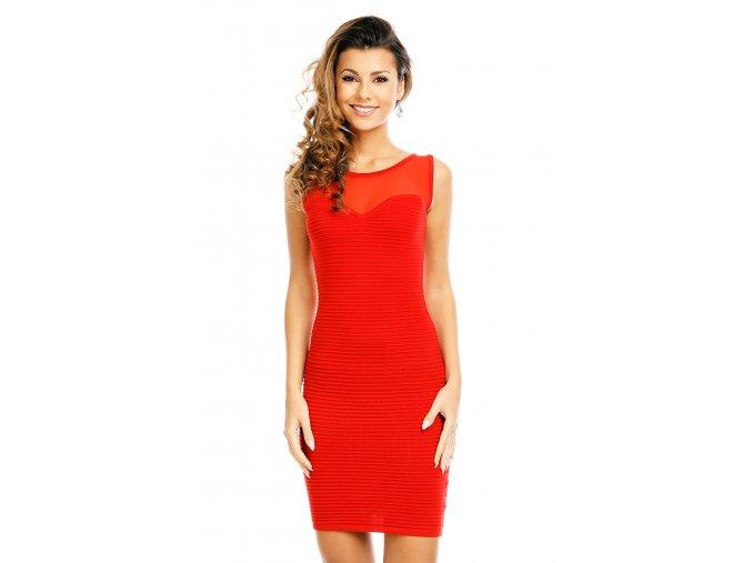 Společenské šaty Tianna červené