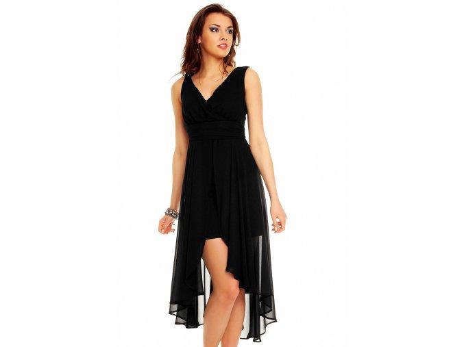 Plesové šaty Rosetta černé