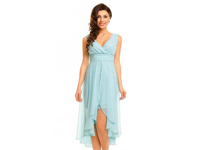 Plesové šaty Rosetta azurové