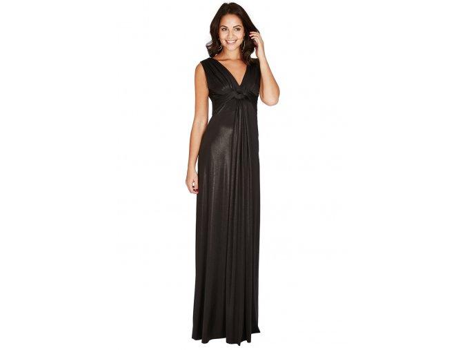 Plesové šaty Domenica II černé