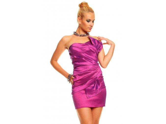 Společenské šaty Natalie fialové