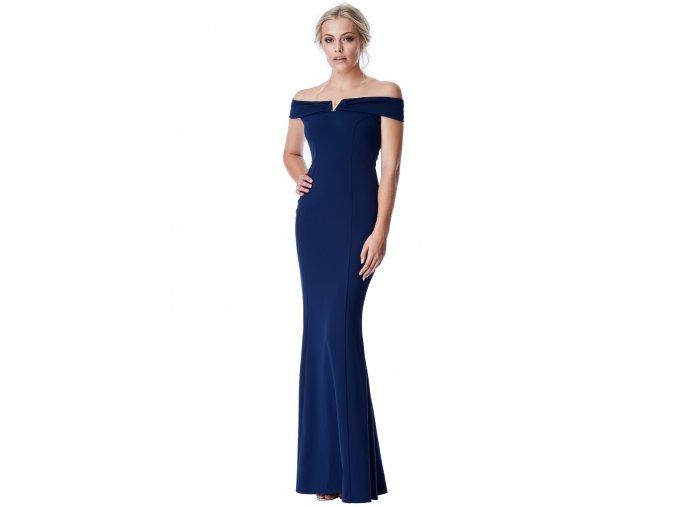 Dlouhé plesové šaty Penelope černé