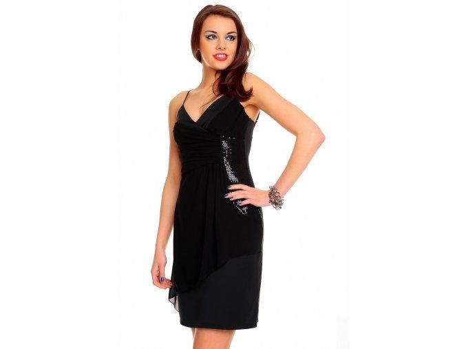 Společenské šaty Germaine černé