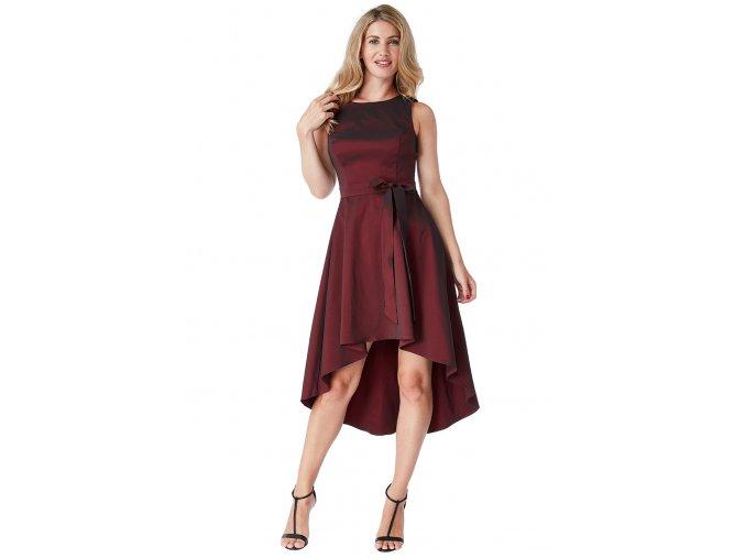 Společenské šaty Whitney vínově červené