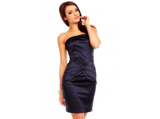 Společenské šaty Luisa II tmavě modré