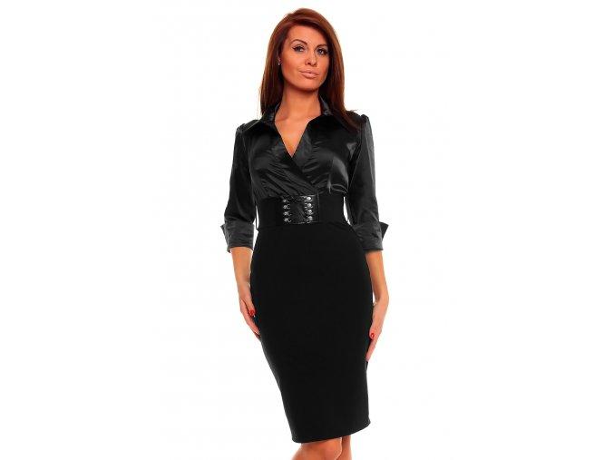 Business šaty Rebecca černé
