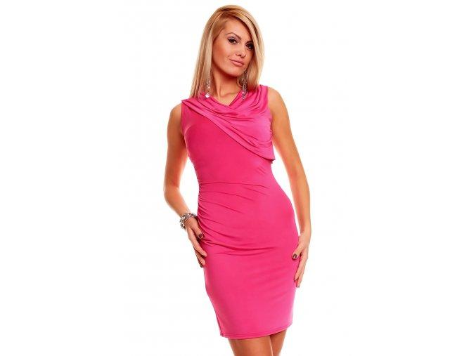 Společenské šaty Jossie růžové