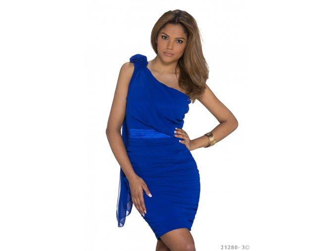 Koktejlové šaty Season modré