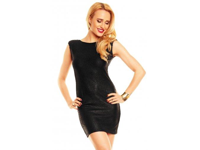 Společenské šaty Hester černé