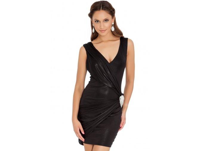 Společenské šaty Skye černé