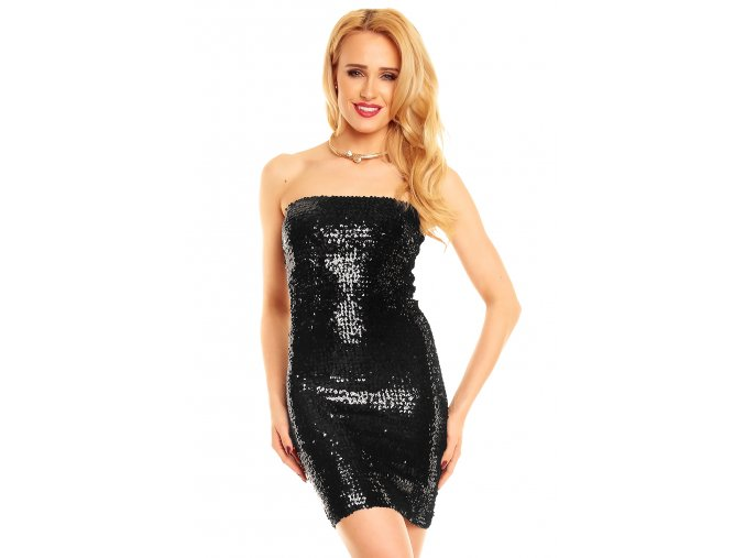 Plesové šaty Gregoria černé