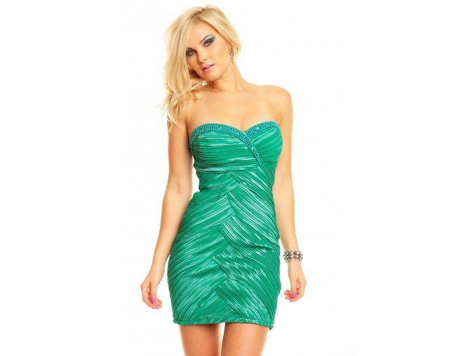 Společenské šaty Vanessa zelené
