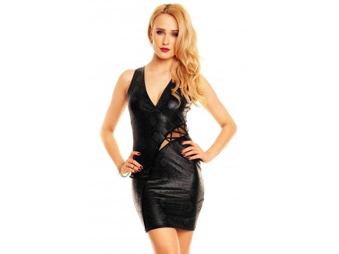 Společenské šaty Frankie černé