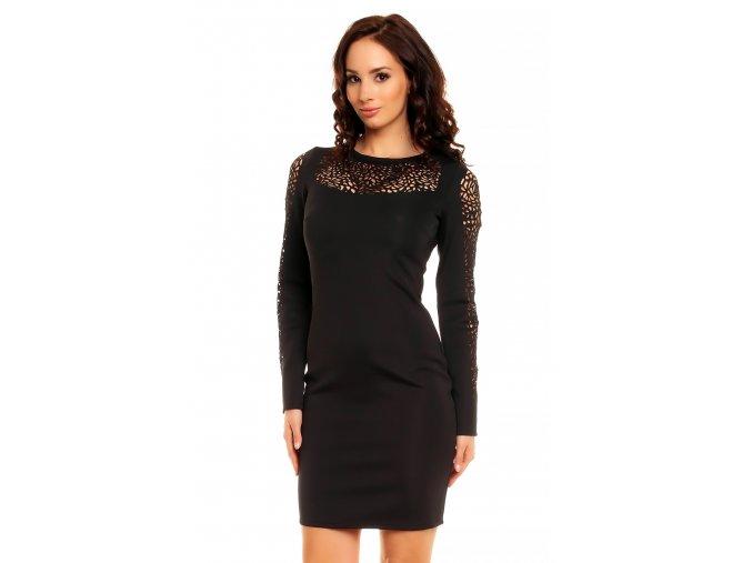 Společenské šaty Laila černé