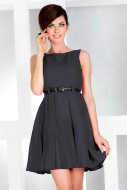 Společenské šaty Tessy II tmavě šedé