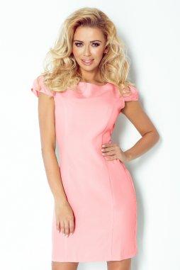 Společenské šaty Kimmy světle růžové