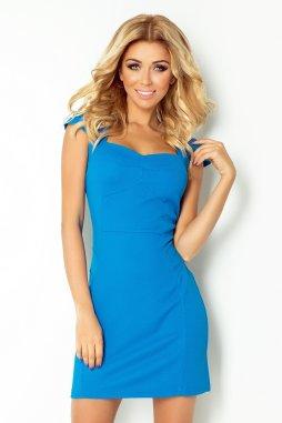 Společenské šaty Velia II tyrkysově modré