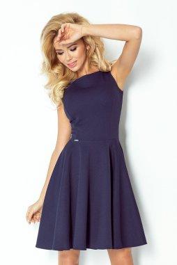 Koktejlové šaty Monnie tmavě modré