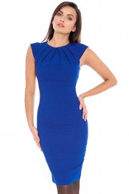Společenské šaty Haydee modré