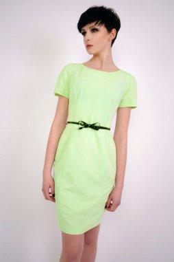 Společenské šaty pro plnoštíhlé Marcia mentolové