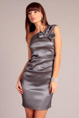 Společenské šaty Sofia stříbrné