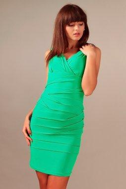 Společenské šaty pro plnoštíhlé Vera zelené