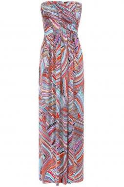 Šaty Gianna vícebarevné se vzorem