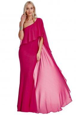 Plesové šaty Cinderella fialovorůžové