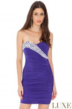Společenské šaty Berry II fialové