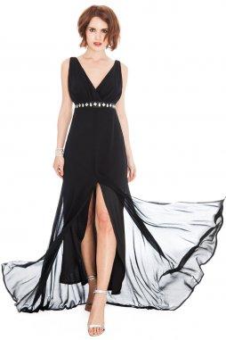 Plesové šaty Liberty černé