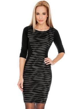 Společenské šaty Elvera černé