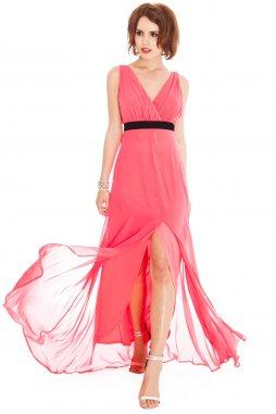 Plesové šaty Liberty lososové II