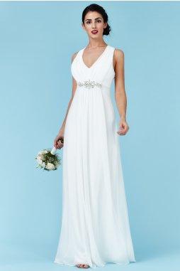 Luxusní svatební šaty Florentina bílé