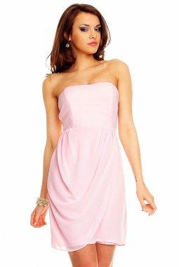 Společenské šaty Blanch světle růžové