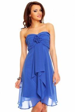 Plesové šaty Virgie modré