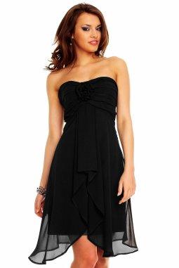Plesové šaty Virgie černé