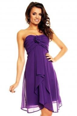 Plesové šaty Virgie fialové