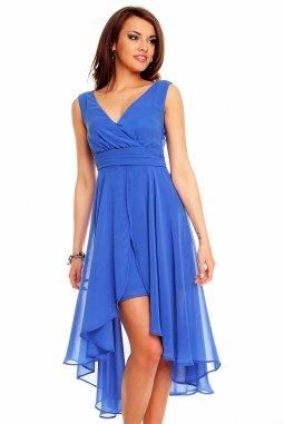 Plesové šaty Rosetta modré