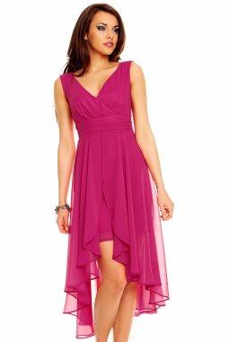 Plesové šaty Rosetta fuchsiové
