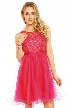 Společenské šaty Aimee fuchsiové