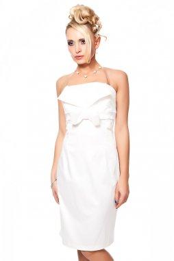 Společenské šaty Tara II bílé