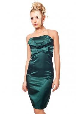 Společenské šaty Tara II tmavě zelené