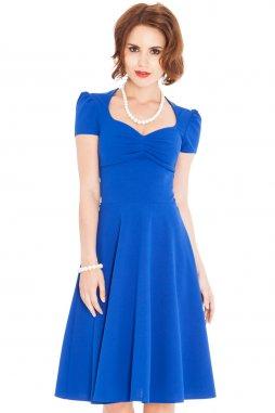 Společenské šaty Darnell modré
