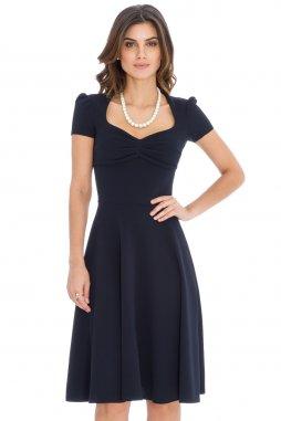 Společenské šaty Darnell tmavě modré