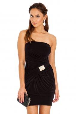 Společenské šaty Shavon černé