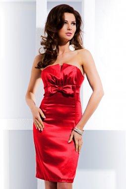 Společenské šaty Tara III červené
