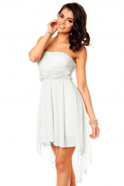 Společenské šaty Winona bílé