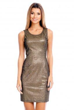 Společenské šaty Shara zlaté